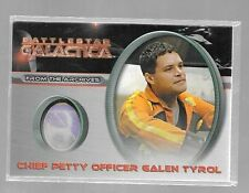 Battlestar Galactica Costume card CC11 Chief Petty Officer Galen Tyrol variant