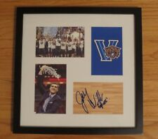 Jay Wright Autograph Autographed Framed VILLANOVA Basketball Signed