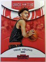 2018-19 Panini Contenders Rookie of the Year Retail Trae Young #6, Atlanta Hawks