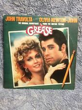 Grease, Soundtrack, RSO RS-2-4002, 1978, 2 LPs, John Travolta/Olivia Newton John