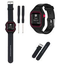 Silicone Wristband Watch Band Wrist Strap For Small Garmin Forerunner 25 Women