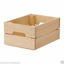 IKEA Wooden Home Storage Solutions