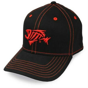 G. LOOMIS A-FLEX CAP BLACK/RED