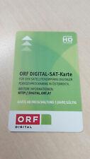 ORF HD SAT Karte Digital freigeschaltet bis 10.2025