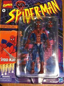 Hasbro Marvel Legends Retro Spider-Man Action Figure