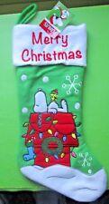 Peanuts Snoopy & Woodstock Embellished Christmas Stocking