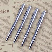 Mini Pocket-size Ballpoint Pen Metal Rotating Small Portable Oil Blue Cute Pen