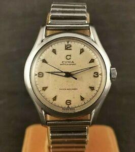 Gents Vintage Cyma Watersport Watch. Cal R.459