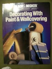 DECORATING WITH PAINT & WALLCOVERING BLACK AND DECKER HOME IMPROVEMENT 1988 SC