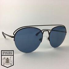 BEN SHERMAN eyeglasses GREY HALF RIMLESS glasses frame MOD: N/A