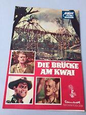 Illustrierte FILM-BÜHNE 'Die Brücke am Kwai' Alec Guiness