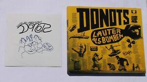Donots CD Lauter Als Bomben (2018) Digipack - Mit Donots Aufkleber