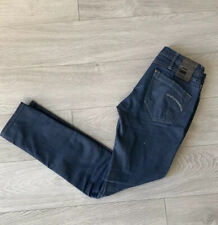 G-Star Raw 3301 Skinny Leg Dark Wash  Blue Jeans Women's Men's  Size 25 26 28