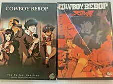 Cowboy Bebop The Perfect Sessions Limited Edition DVD Box Set & Movie *READ*