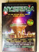 Hysteria Volume 16. Oldskool classic drum n bass / jungle 6 x CD pack. Rare