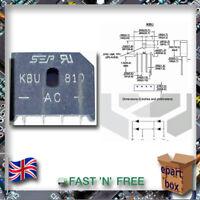 KBU / KBPC Single Phase Bridge Rectifier Diode 808, 810, 1004, 1010, 3510, 5010