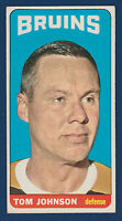 TOM JOHNSON 64-65 TOPPS TALLBOYS 1964-65 NO 101 EX+  10298