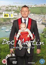 Doc Martin Season Series 5 Complete DVD Martin Clunes Region 2