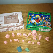 1986 KESHI Mario Nintendo Ban Dai Figures Vintage RARE Collectable RETRO JAPAN