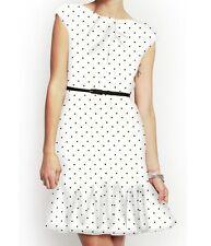 NWT Eva Franco Black & White dot Gilbert Dress Size 6
