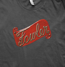 TRACTION ENGINE FOWLER LIVE STEAM EMBLEM T SHIRT