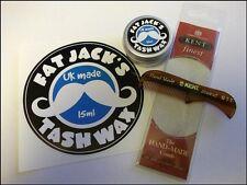 Fat Jack's Tash Wax - Moustache Comb & Wax Pack! Kent 81t Comb & Fat Jack's Wax!