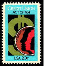 Scott # 2075....20 Cent.... Credit Union...  50 Stamps  MNH @ FV + $1