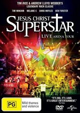 Jesus Christ Superstar (2012 Live Arena Tour)  - DVD - NEW Region 4, 2