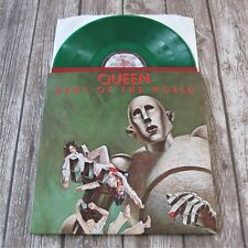 QUEEN : News Of The World - Green Coloured Vinyl LP Album 2015 Record