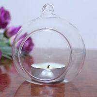Glass Terrarium Potted Plant Candle Sticker Wedding Decoration Hanging Vase