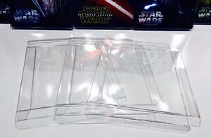 50 STEELBOOK Box Protectors  Custom Made  Sleeves / Slipcovers / Plastic Cases