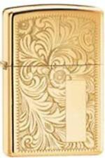 Zippo 352b venetian high polish brass Lighter