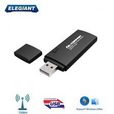 COMFAST 1200Mbps Dual Band MINI CLE WIFI USB Adaptateur Sans Fil Dongle Réseau