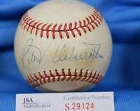 Peter Ueberroth Jsa Coa Hand Signed 1985 World Series Autograph Baseball