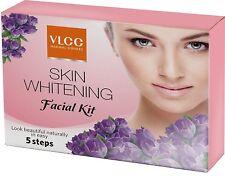 VLCC Skin Whitening Facial Kit 5 steps (1 time use ) look beauitiful  -1 kit