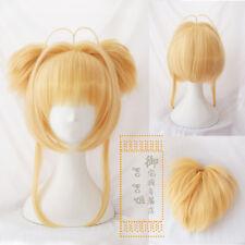 Card Captor Sakura CLEAR CARD Kinomoto Sakura Cosplay Hair Wig Anime+wig cap