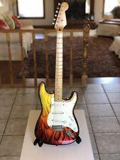1995 *Fender* Stratocaster Custom Flames Paint Job