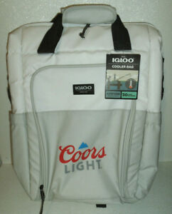Igloo Maxcold Cooler Bag 30 Can COORS LIGHT Backpack NEW With Tag