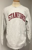 STANFORD VINTAGE GRAY PULLOVER SWEATSHIRT LARGE SCHOOL LOGO BACK ESTIMATED SZ XL