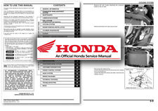 Honda GL1800 Gold Wing Servicio Taller reparación Manual Goldwing GL 1800 un