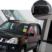 For Nissan X-Trail Rogue 2008-2013 Black Left Driver Side Rear View Mirror Assy