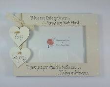 Personalised Wedding Bride Maid Of Honour Bridesmaid 4x6 Photo Frame Gift