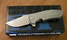 ZERO TOLERANCE New 0900 Les George Titanium Folder S35VN Blade Knife/Knives