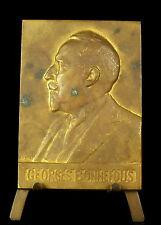 Medaglia George Bonnefous ministro sous Raymond Poincaré 1929 sc S Grün Medal