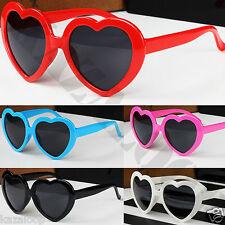Retro Love heart shape Lolita sunglasses fashion Fancy dress Party