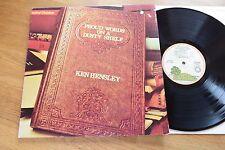 KEN HENSLEY Proud Parole On A Polveroso Mensola LP Fucsia Rim Island 19223