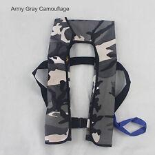 2017 Life Jacket Inflation Adult Manual Inflatable 150n PFD Survival Vest Deep Blue