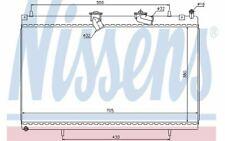 NISSENS Radiateur moteur pour PEUGEOT 607 407 CITROEN C6 63619 - Mister Auto