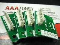 4 Imaging Drum Chip Refill for Konica Minolta Bizhub C451, C550, C650 (IU-610)
