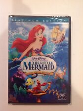 The Little Mermaid (DVD,2006,2-Disc, Platinum Edition)NEW Authentic Buena Vista